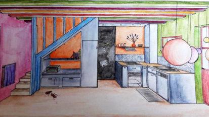Réaménagement d'une cuisine (Clisson)