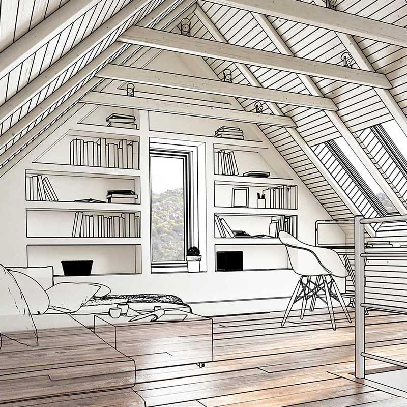 Maggy Durand-Moreau- Architecte interieure - prestation réhabilitation