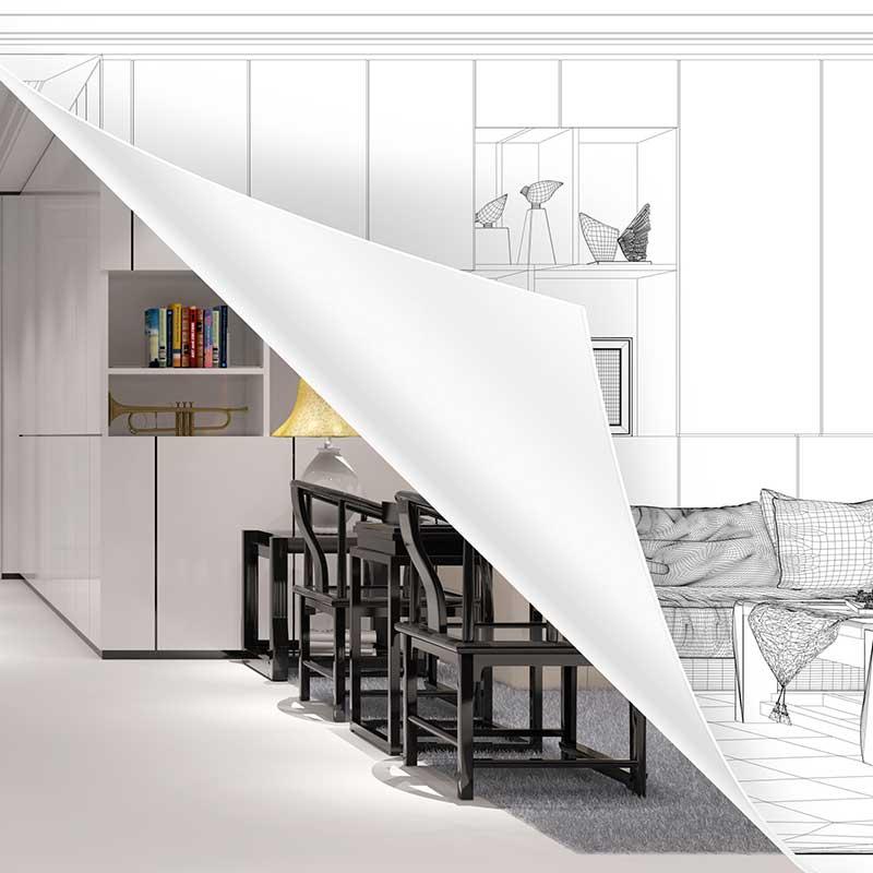 Maggy Durand-Moreau- Architecte interieure - relooké un salon